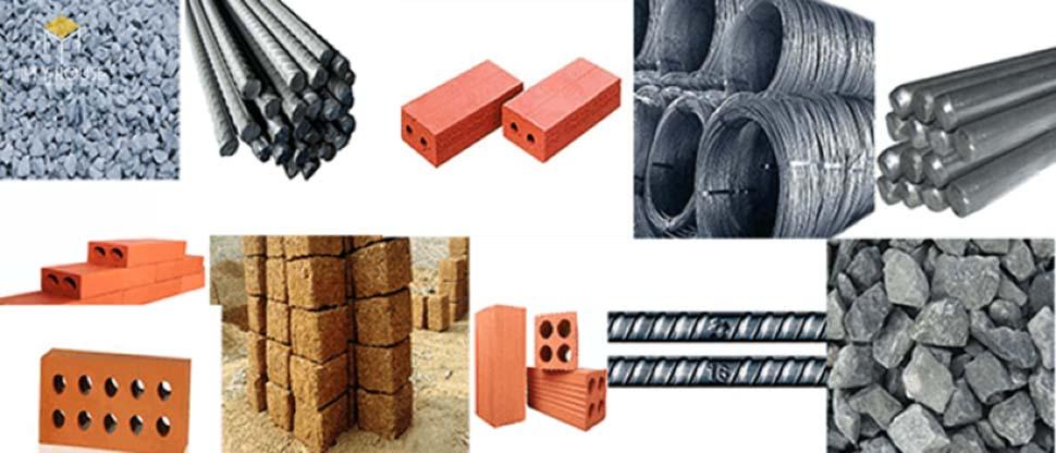 giá vật liệu xây dựng