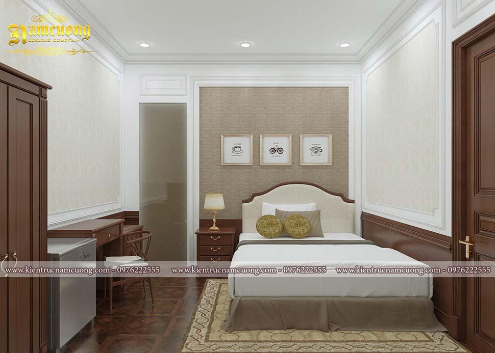 giường đơn khách sạn mini