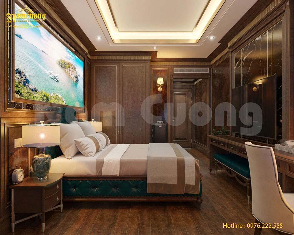 giường lò xo khách sạn