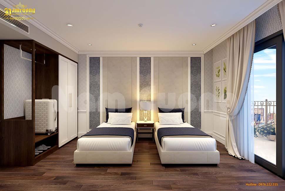 giường đơn khách sạn 5 sao