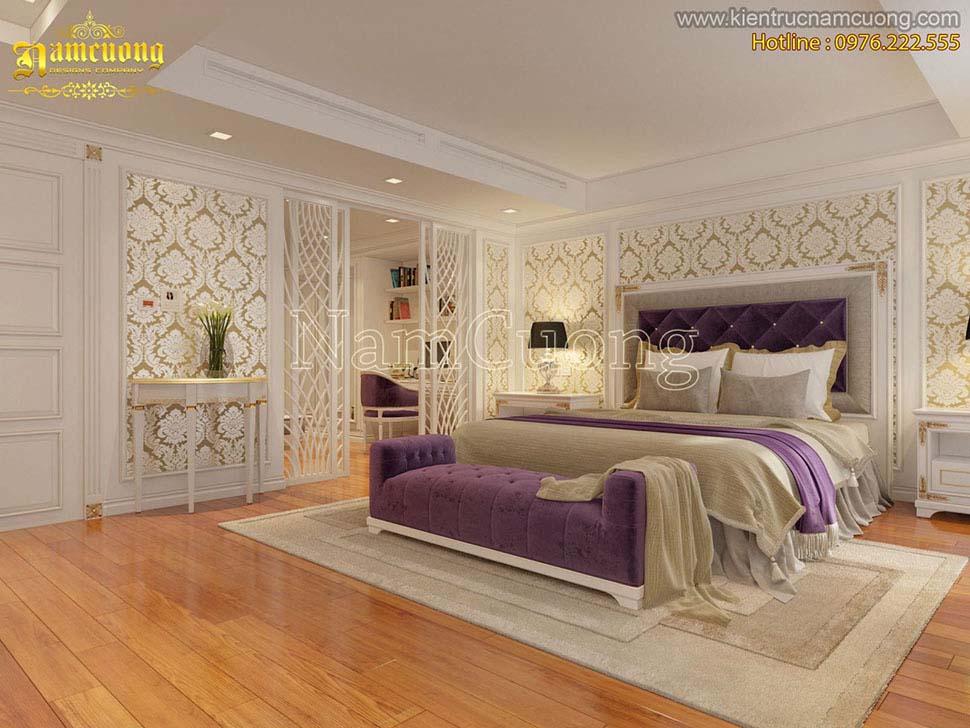 giường đôi đế vương