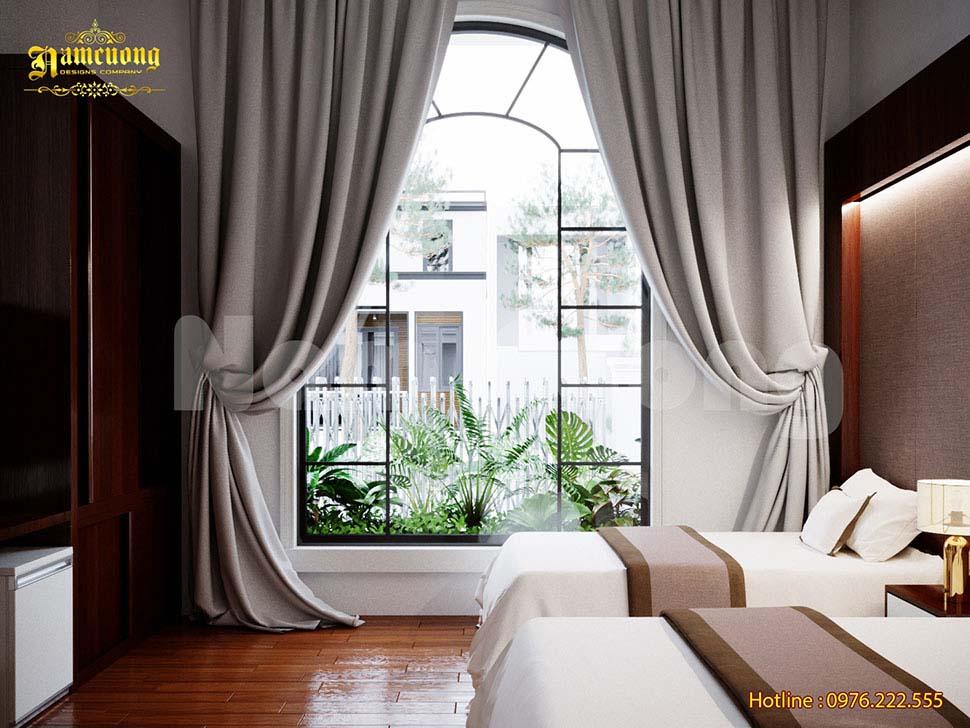 kiểu dáng giường khách sạn 5 sao