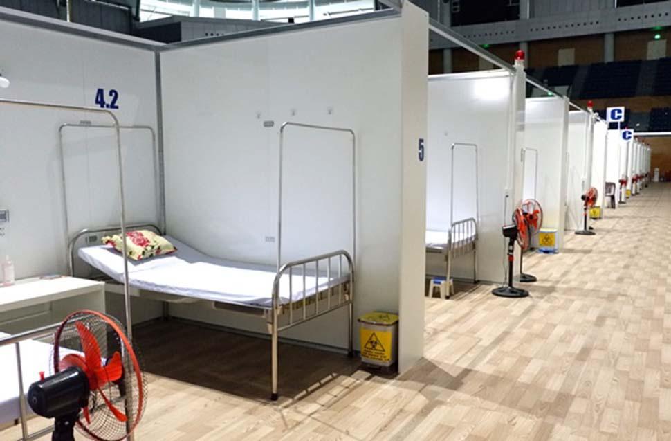 xây dựng bệnh viện dã chiến
