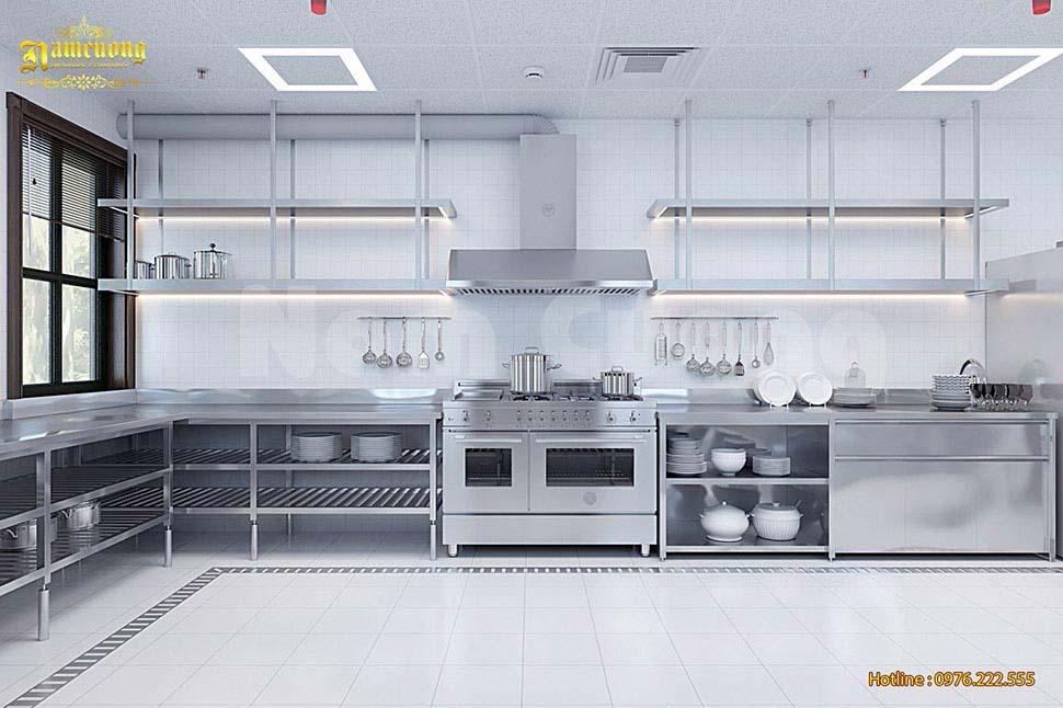 nội thất bếp inox