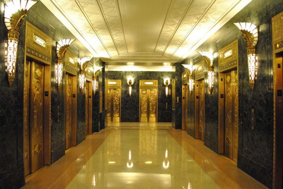 các kiểu thang máy khách sạn
