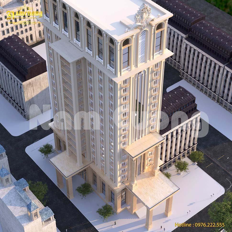 kích thước thang máy khách sạn