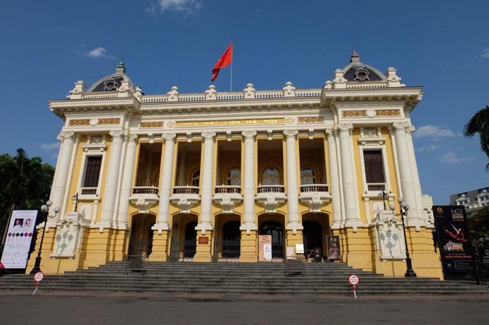 kiến trúc nhà hát lớn