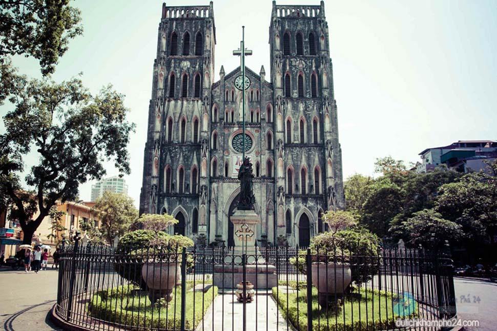 nhà thờ lớn hà nội kiểu pháp