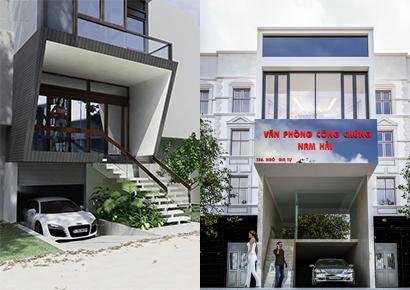 thiết kế nhà có tầng hầm