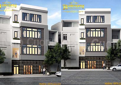thiết kế nhà phố uy tín