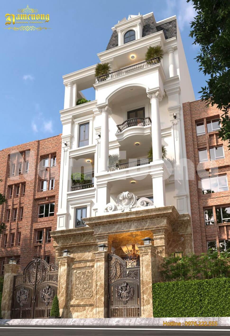 nhà phố mặt tiền 7m