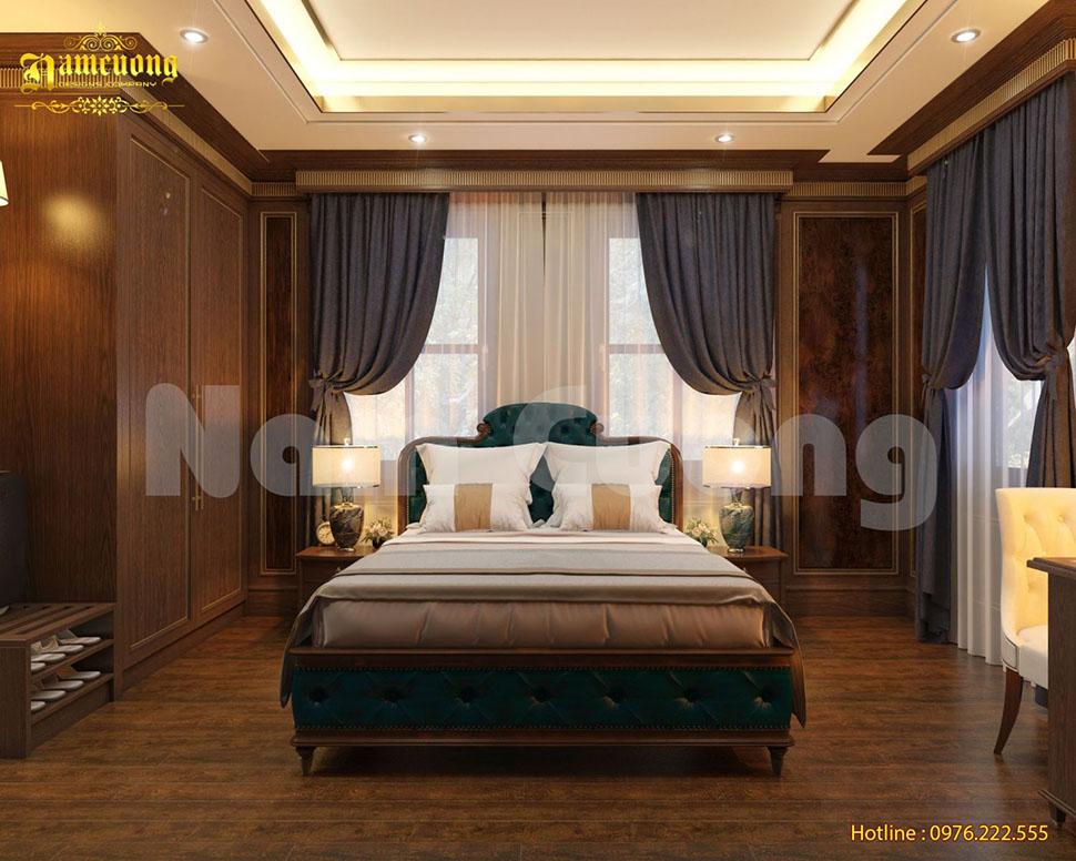 thiết kế phòng ngủ khách sạn 5 sao