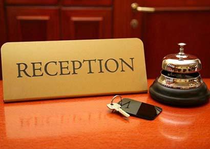 reception là gì