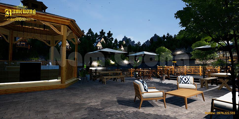 Resort bungalow gần gũi với thiên nhiên