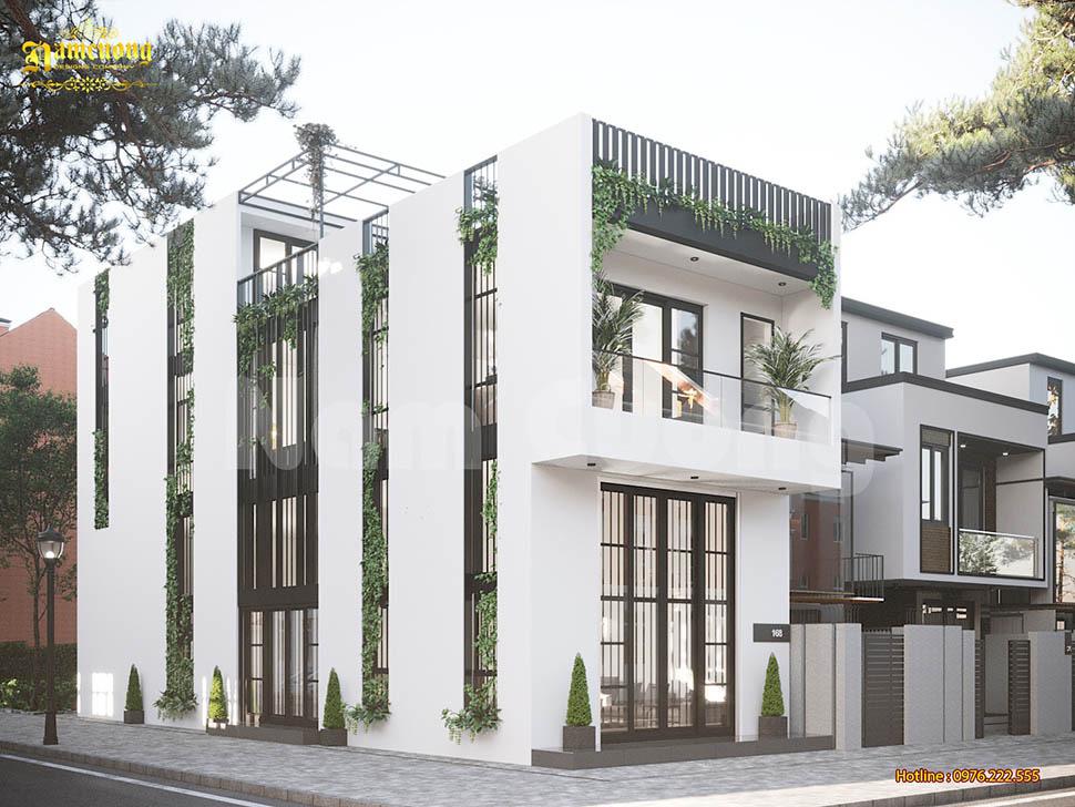 nhà phố hiện đại đơn giản