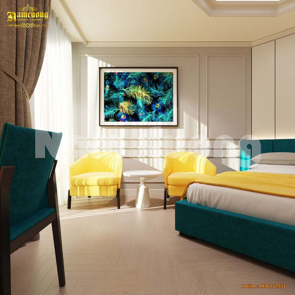 thiết kế phòng ngủ khách sạn mini