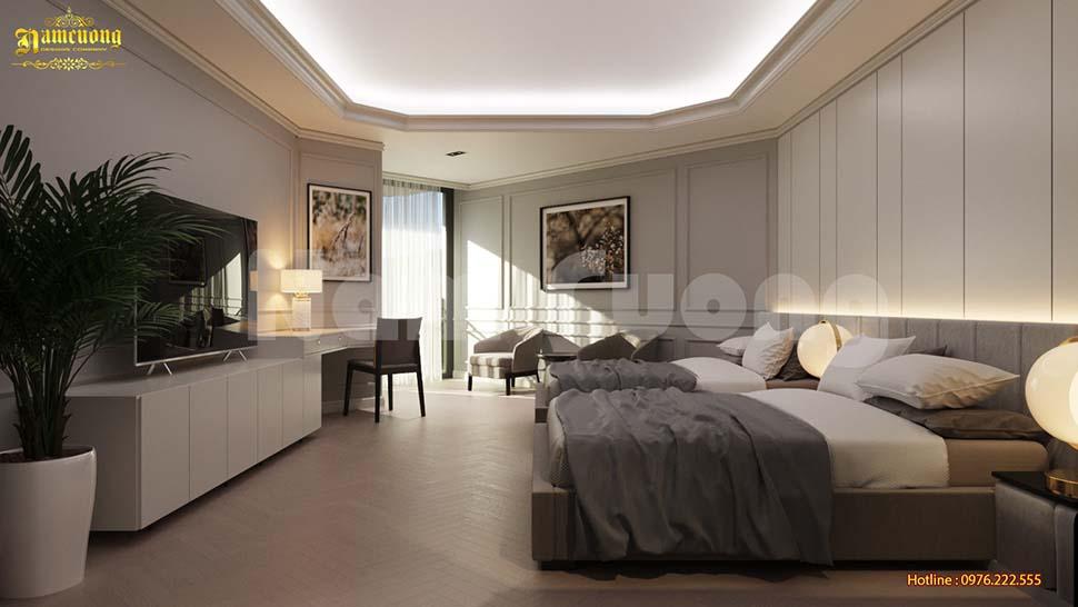 Tận dụng ánh sáng tự nhiên trong thiết kế phòng ngủ khách sạn mini