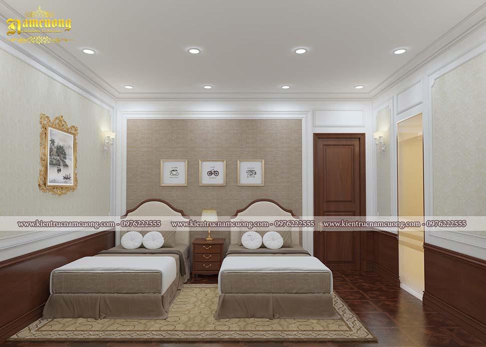 phòng khách sạn 2 giường