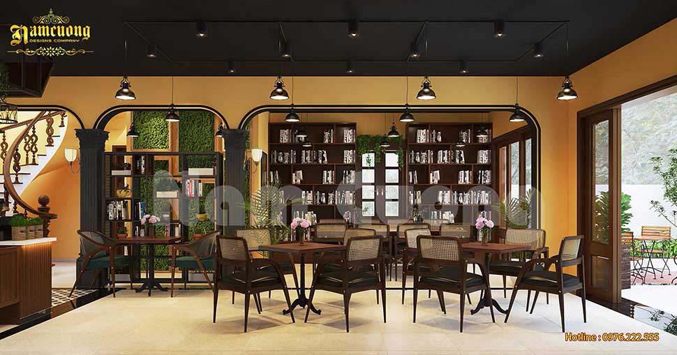 quán cafe sách đẹp