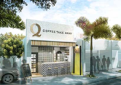thiết kế cafe đẹp