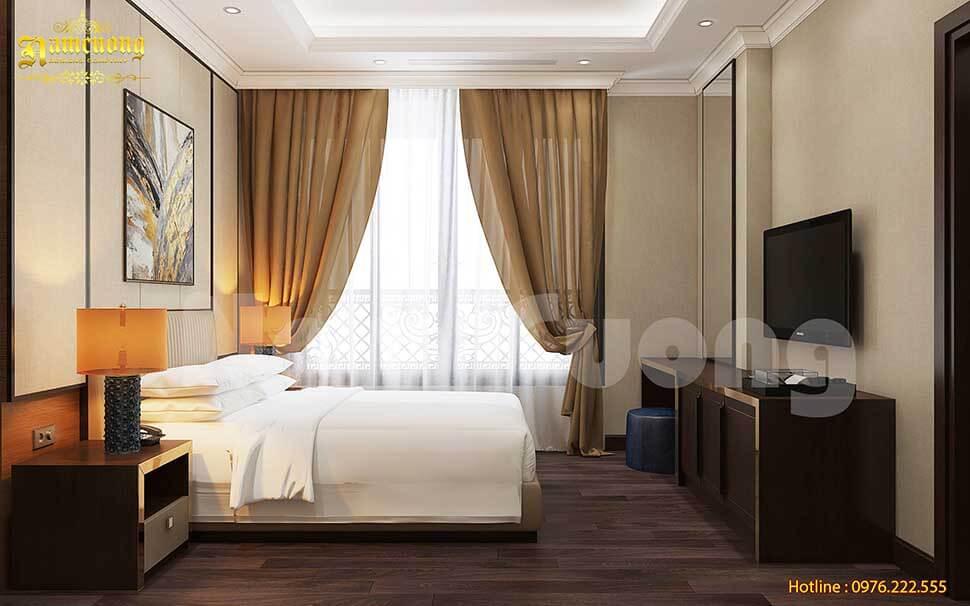 phòng đơn khách sạn pháp