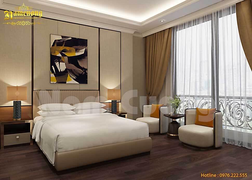 nội thất phòng khách sạn
