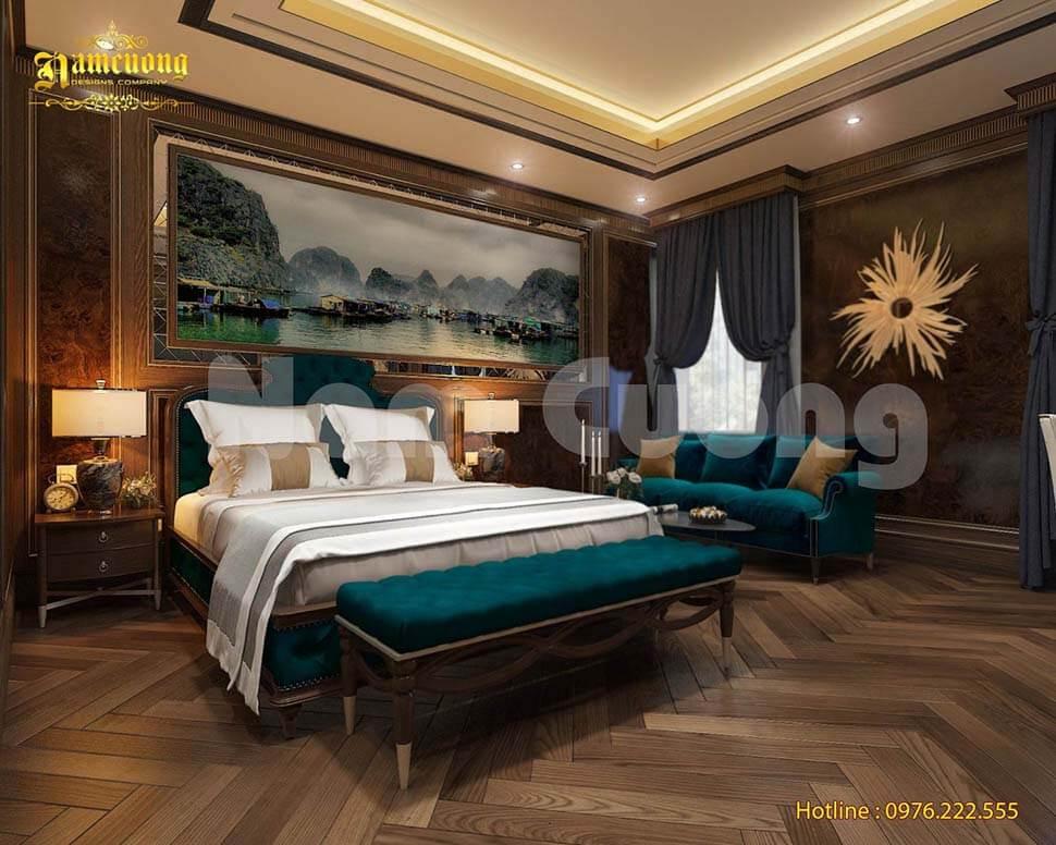 nội thất phòng khách sạn tân cổ điển