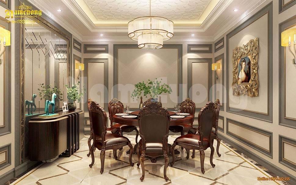 phòng ăn VIP khách sạn