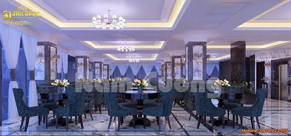 phòng ăn khách sạn trên cao