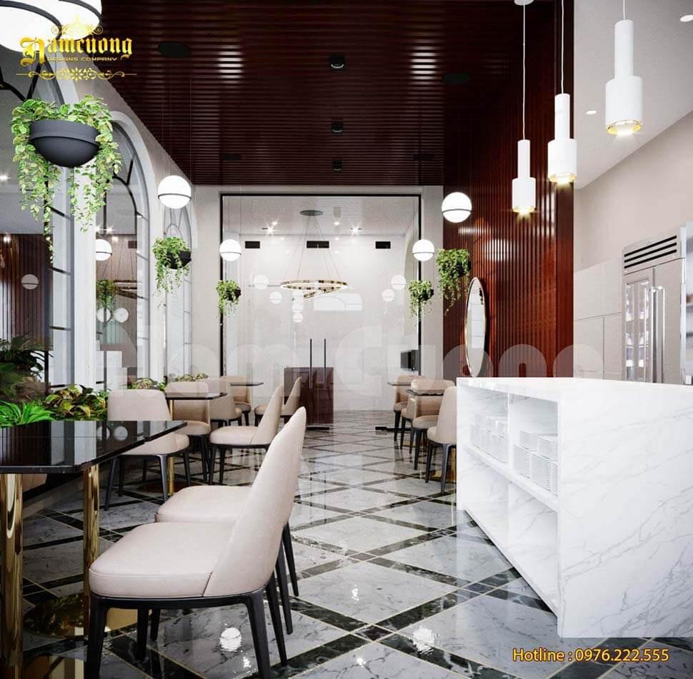 phòng ăn khách sạn 2 sao