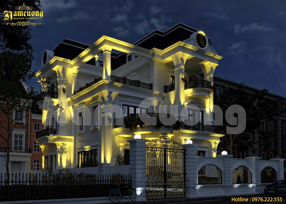 kiến trúc biệt thự đẹp