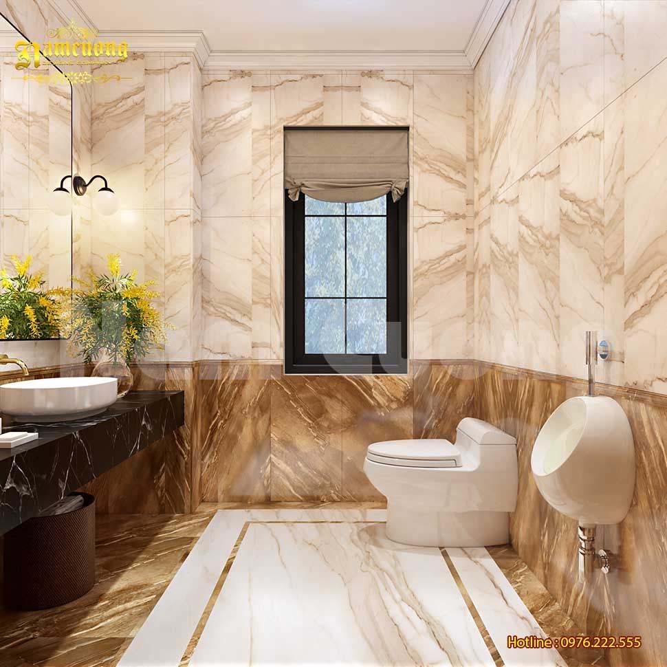 thiết kế wc hiện đại