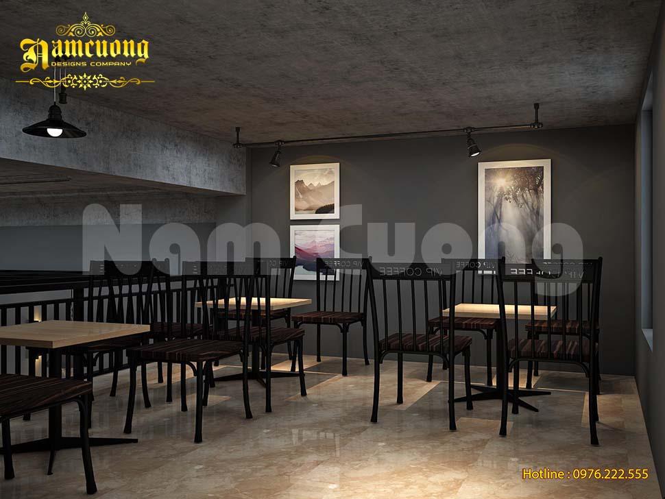 tầng lửng quán cafe