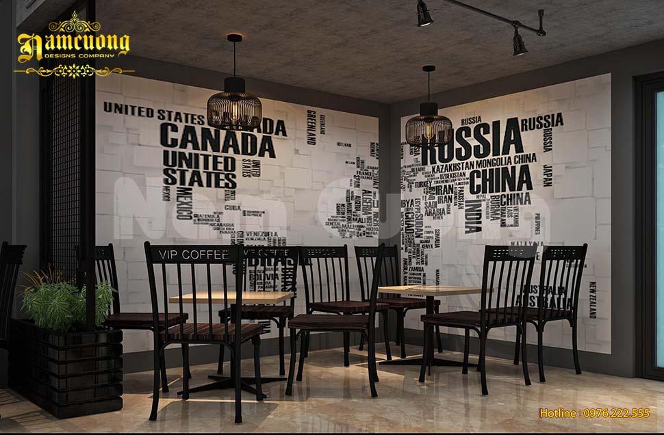trang trí quán cafe đẹp