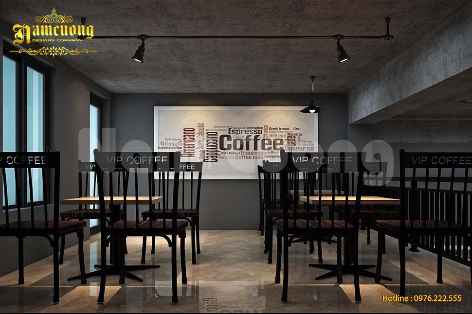 gác lửng quán cafe
