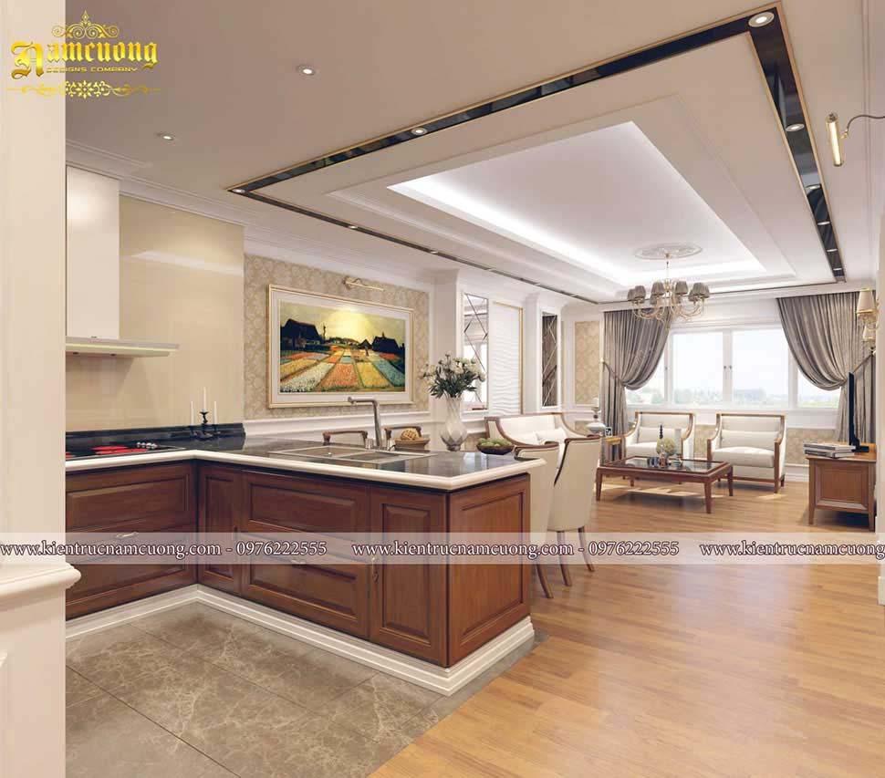 thiết kế nội thất gỗ tại hải phòng
