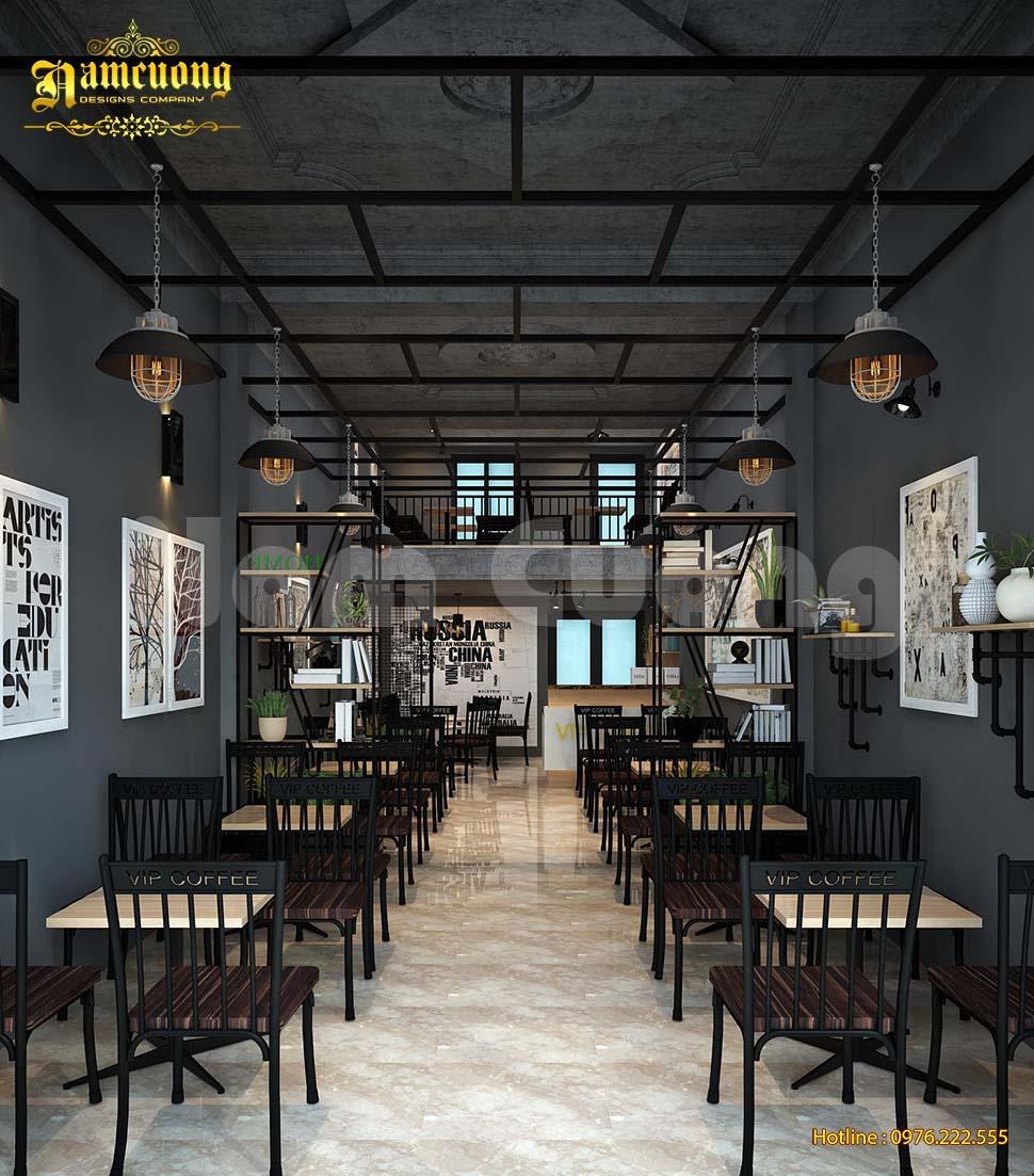 nội thất cafe VIP