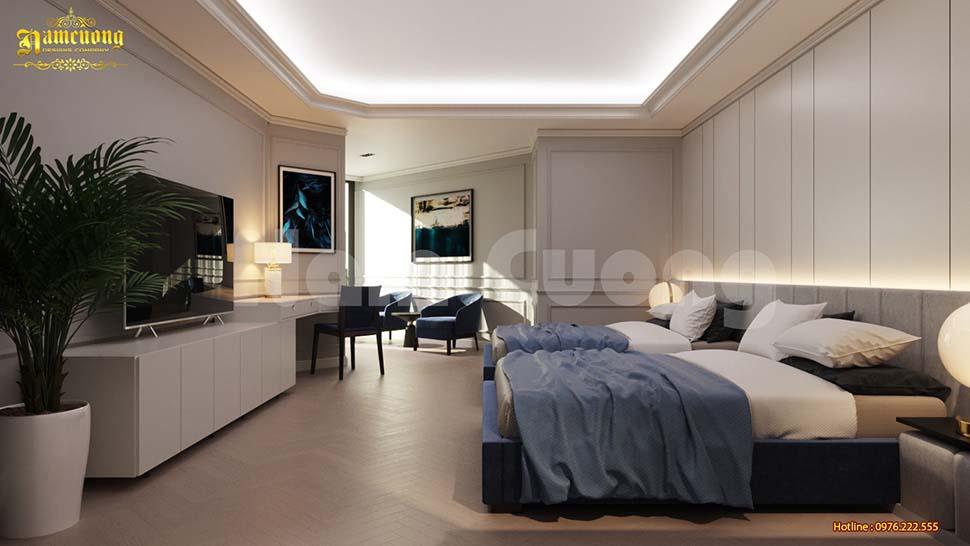 thiết kế nội thất khách sạn ở hải phòng