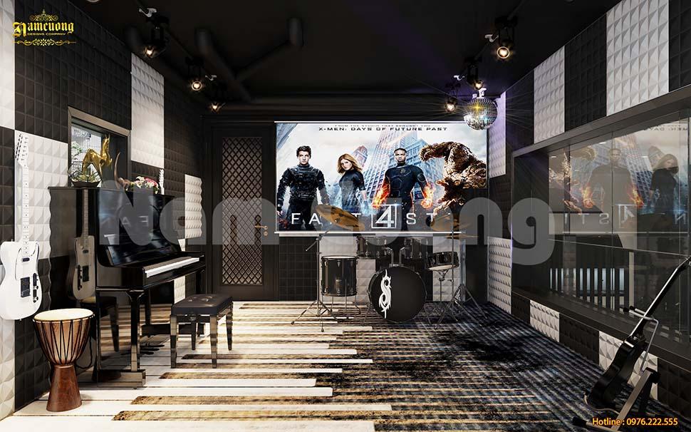 phòng nhạc hiện đại
