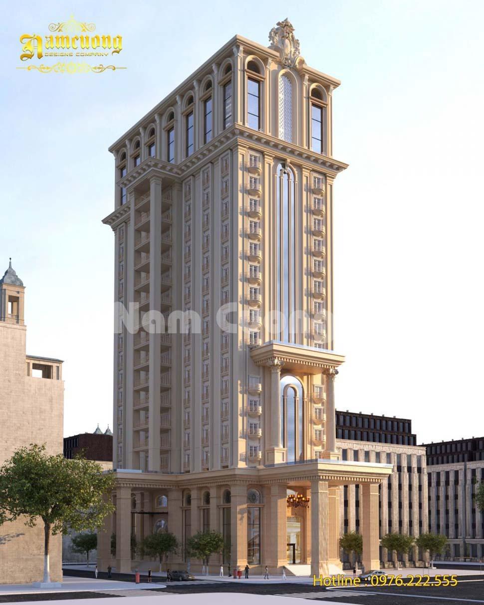 kiến trúc khách sạn 2 sao