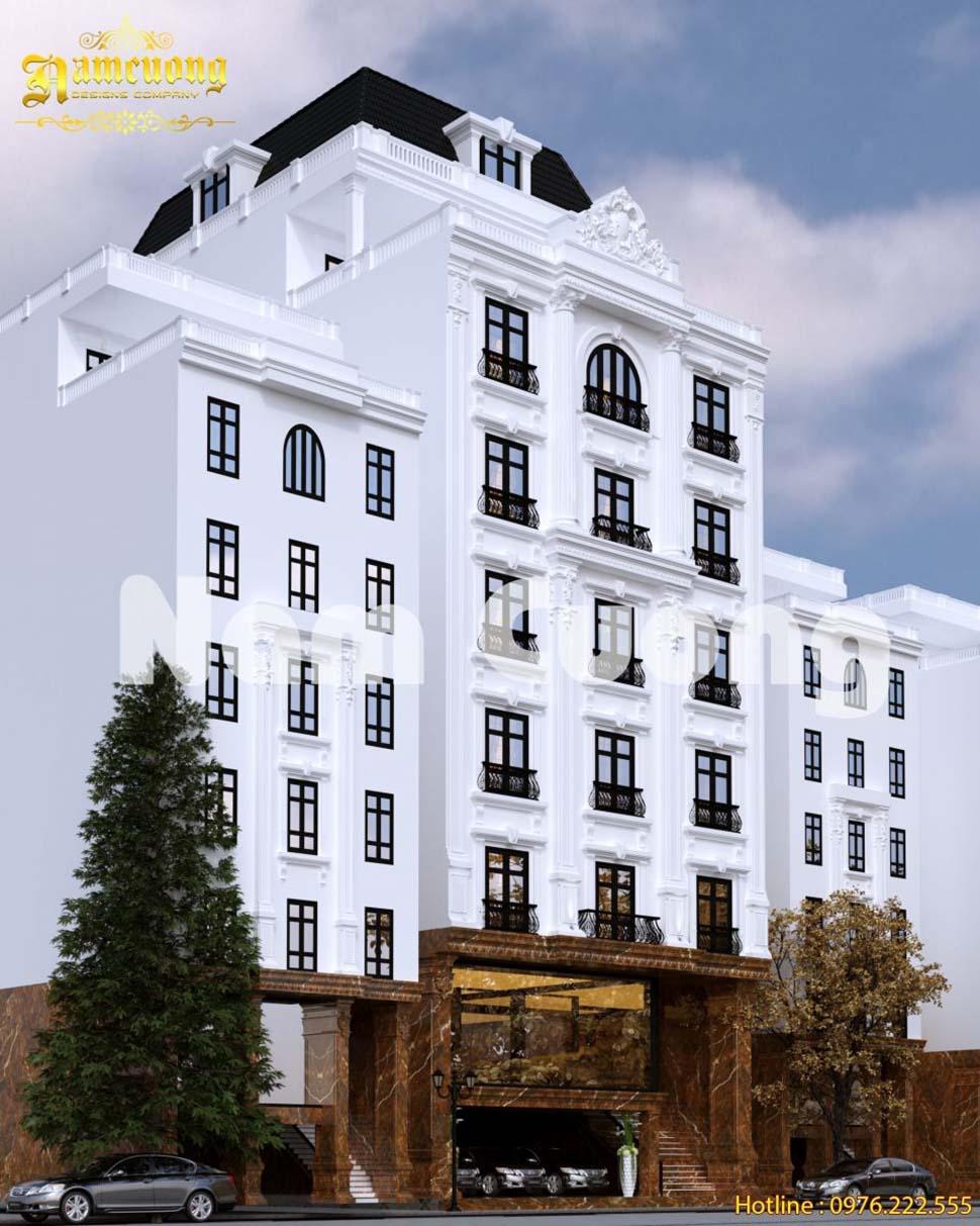 ngoại thất khách sạn