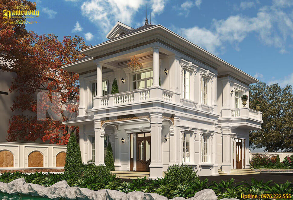 kiến trúc nhà vườn