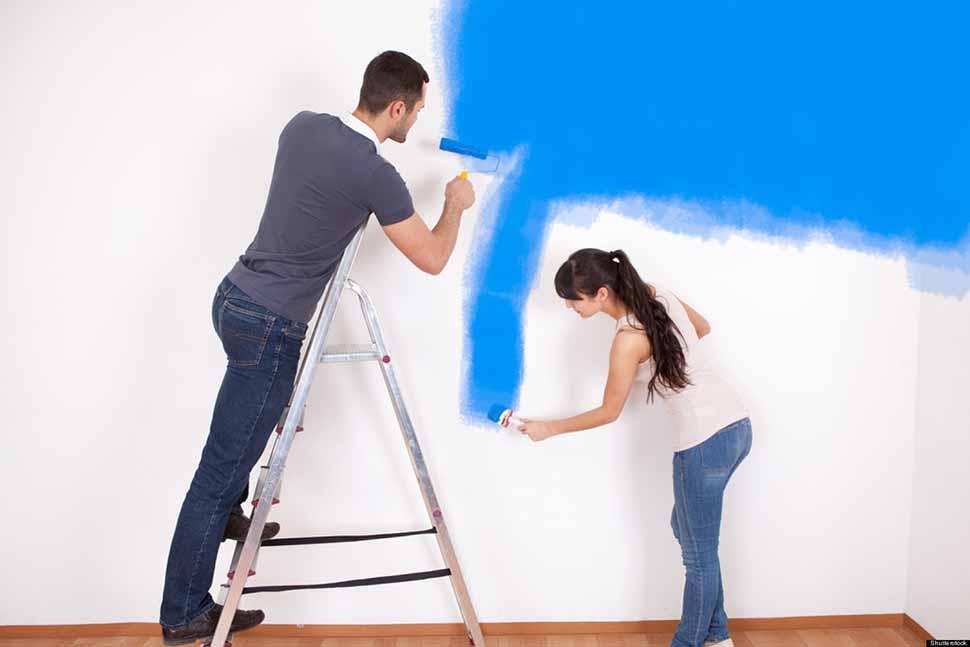 Mùi sơn tường có ảnh hưởng xấu đến sức khỏe con người