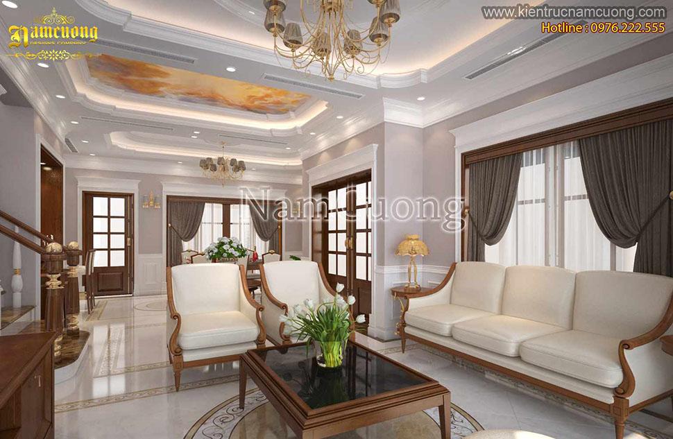 Ghế sofa làm từ da đẹp
