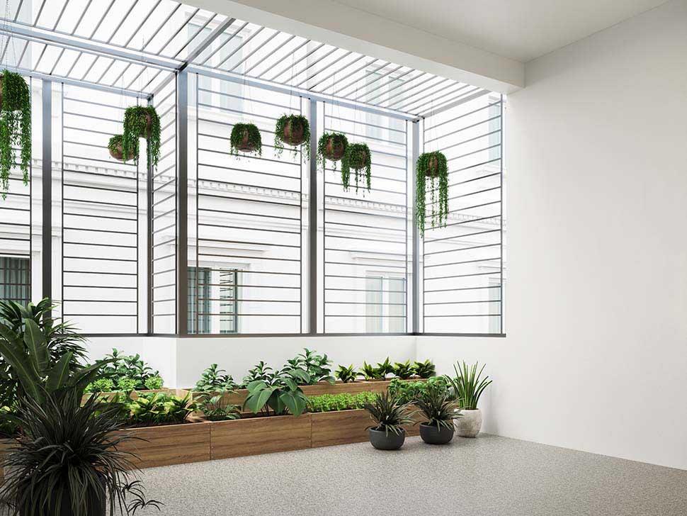 Thiết kế lô gia thành nơi trồng rau là ý tưởng thú vị