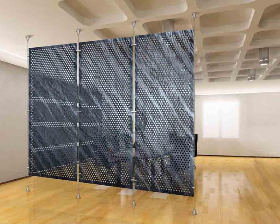 Lưới kim loại đục lỗ đảm bảo an toàn tuyệt đối