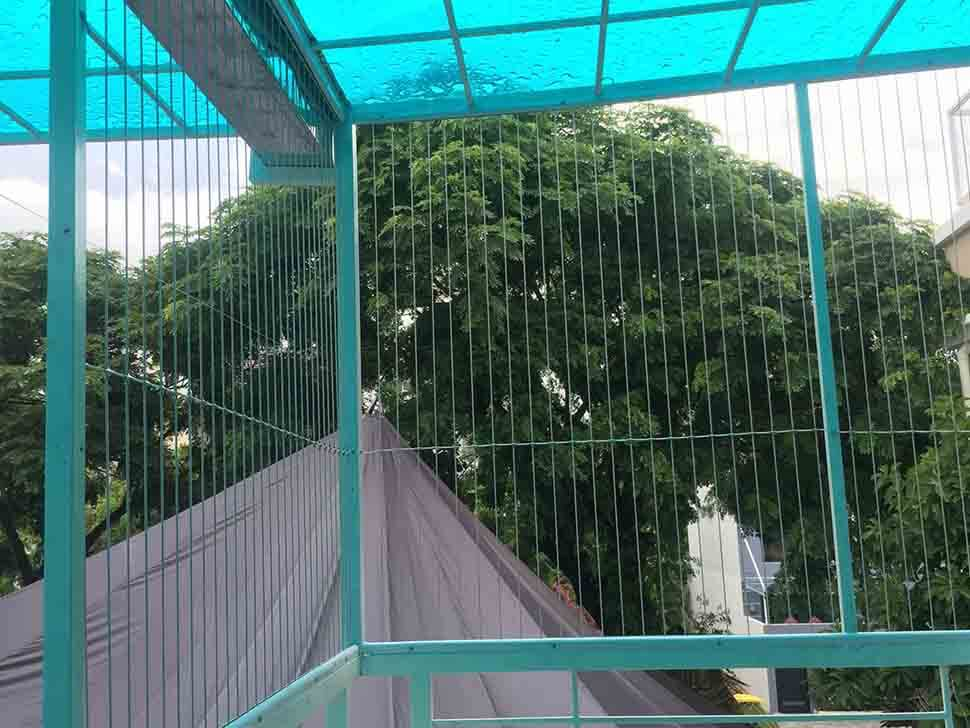 Lưới bảo vệ ban công giúp đảm bảo sự an toàn