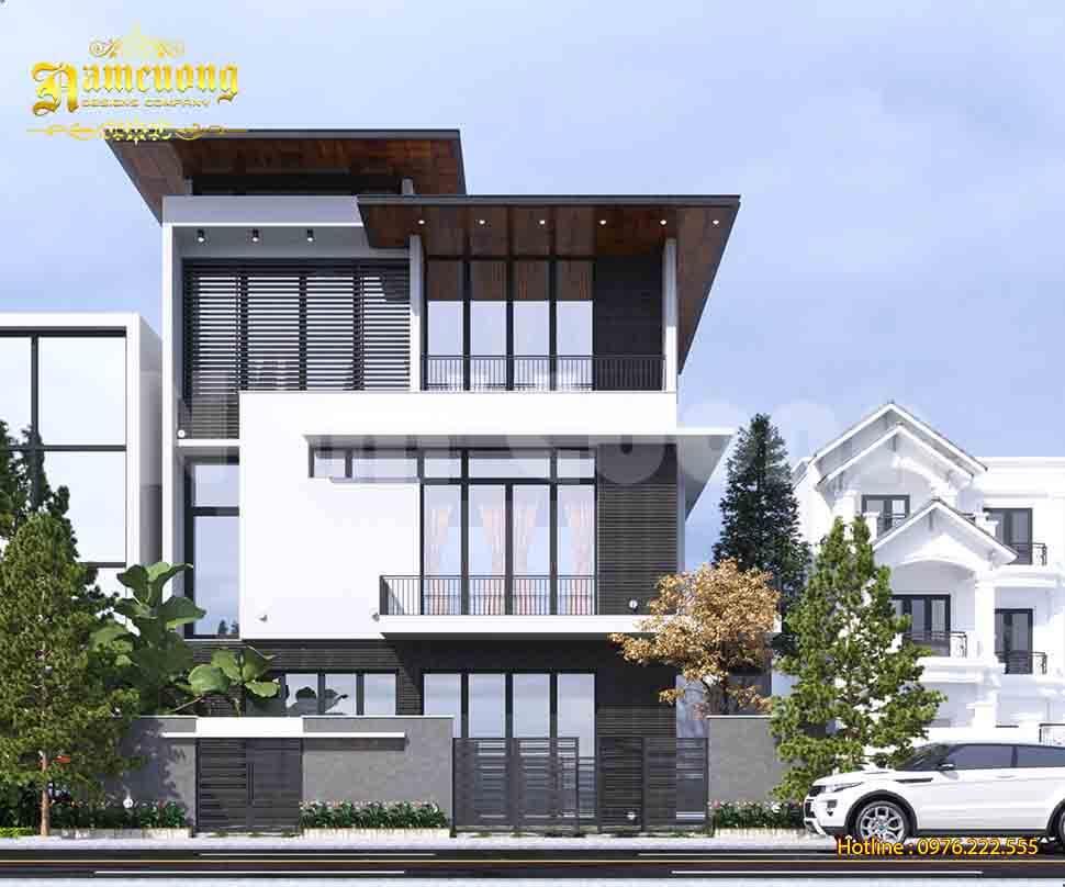 Thiết kế hàng rào biệt thự hiện đại đẹp