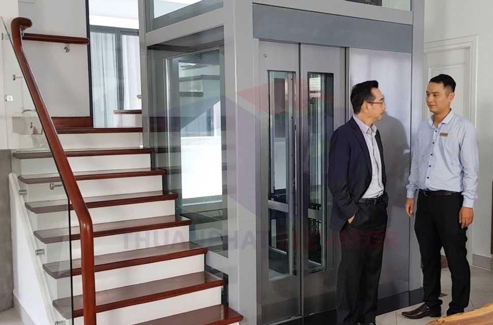 Lựa chọn thang máy cho gia đình nên quan tâm đến thương hiệu