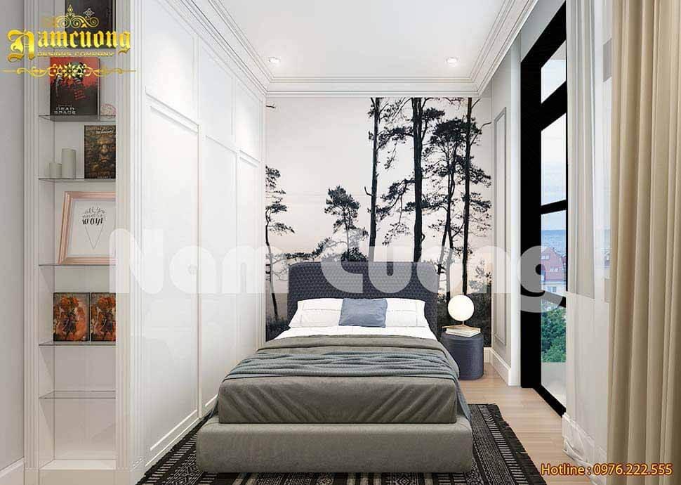 Thiết kế phòng ngủ nhỏ 3m2 bằng cách sử dụng nội thất đa năng